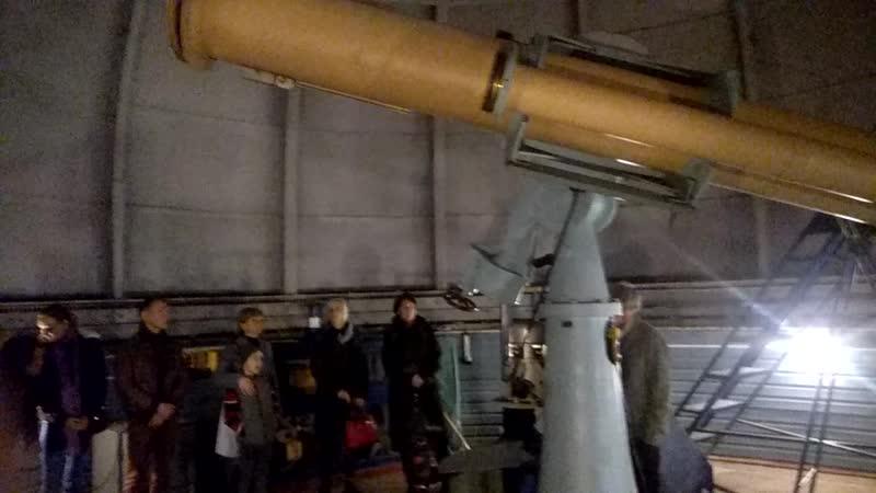 Тамарка и телескоп