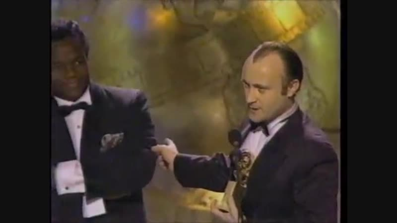 Phil Collins on the Golden Globes