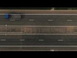 Испытания беспилотных Камазов около Крымского моста
