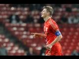 Дания - Россия (Товарищеский матч) 29.02.2012