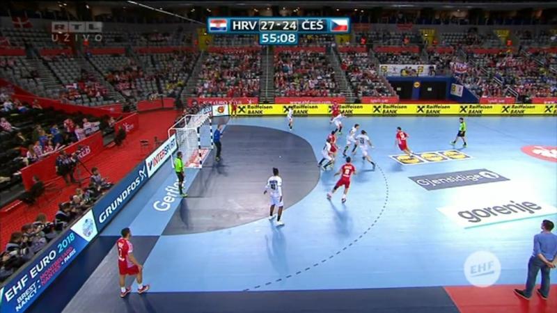 Hrvatska - Ceska 28-27, posljednjih 7 minuta, izjave (Za 5. mjesto, EURO CROATIA 2018), 26.01.2018. HD