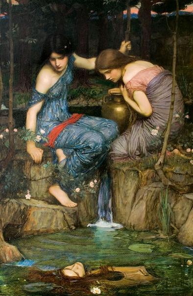 История одного шедевра. «Нимфы находят голову Орфея», Джон Уильям Уотерхаус