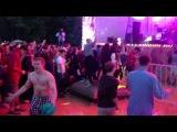 Сумасшедшая атмосфера на концерте группы Datarock. Bosco Fresh Fest.