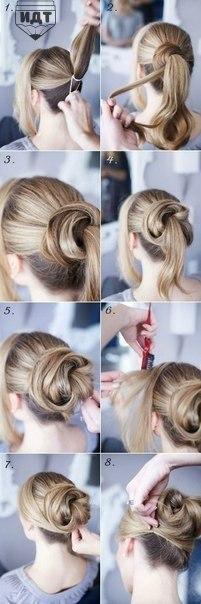 Прически на длинные волосы (9 фото) - картинка