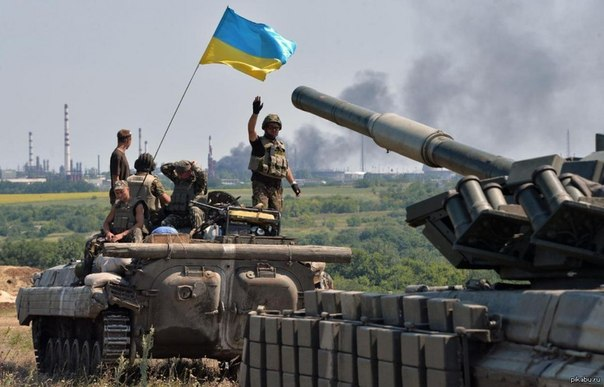 Ukrainian troops liberate Yasynuvata