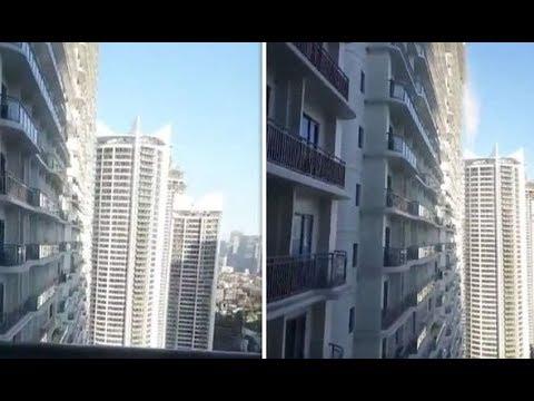 Magnitude 6.1 Earthquake Hits Metro Manila - Video Footage Compilation