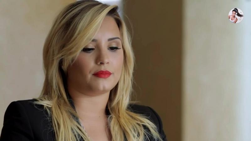 Demi Lovato talking about school bullying/Деми Ловато рассказывает об издевательствах в школе[РУС.СУБ]