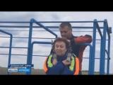 Зоя Леденёва из Боброва в свои 80 лет сдаёт нормативы ГТО на золотой значок