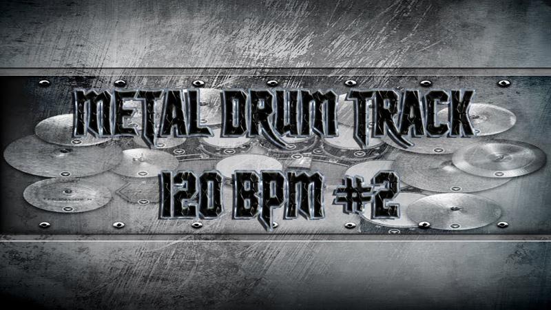 Nu Metal Drum Track 120 BPM | Remix (HQ,HD)