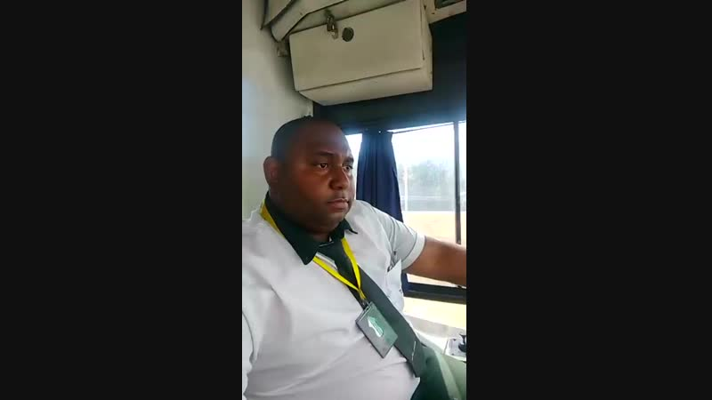 What brazilian bus drivers do while on their shift.