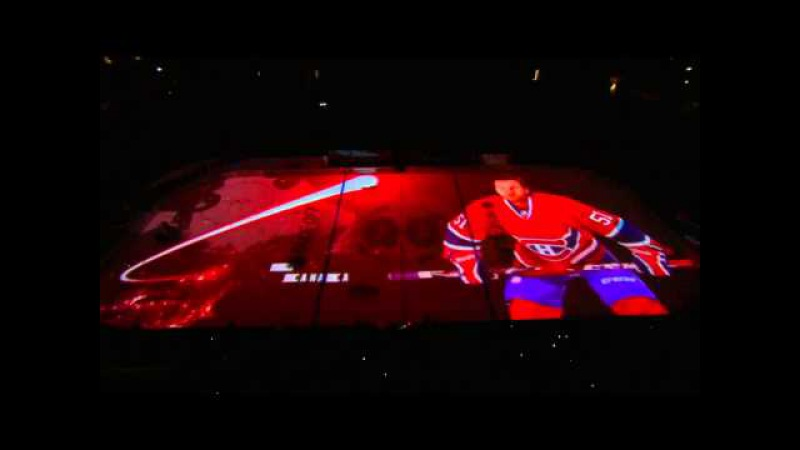 Montreal Canadiens Pre-Game Intro: vs. Bruins oct. 16th 2014