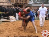Levan Tsiklauri Throwing ended on the Table Georgian Wrestling - Qartuli Chidaoba