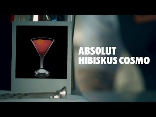 ABSOLUT HIBISKUS COSMO DRINK RECIPE - HOW TO MIX