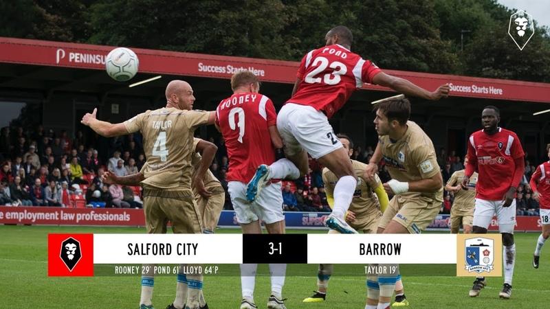 Salford City 3-1 Barrow - National League 27/08