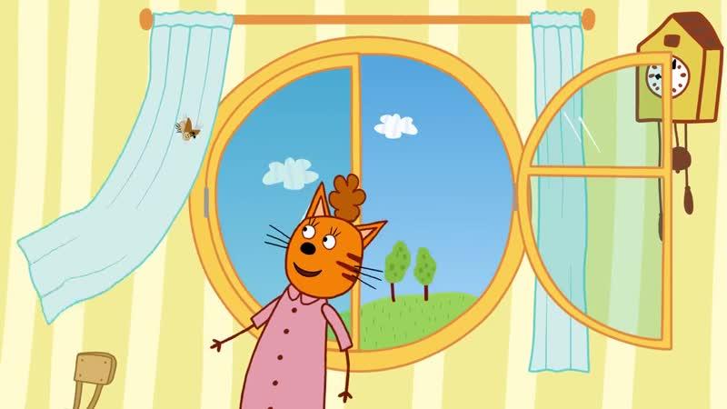 Три кота - Майский Жук - Серия 127 - Мультфильмы для детей