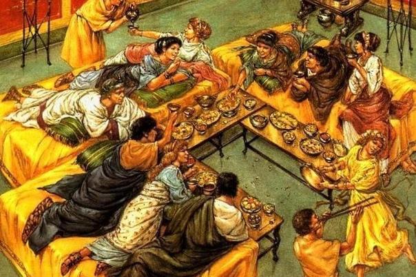 МЕНЮ ЦЕЗАРЯ. ЧТО ЕЛИ В ДРЕВНЕМ РИМЕ Кухня Римской империи формировалась под влиянием гастрономической культуры Древней Эллады. Эта античная гастрономия основывалась на хлебе, вине и оливковом
