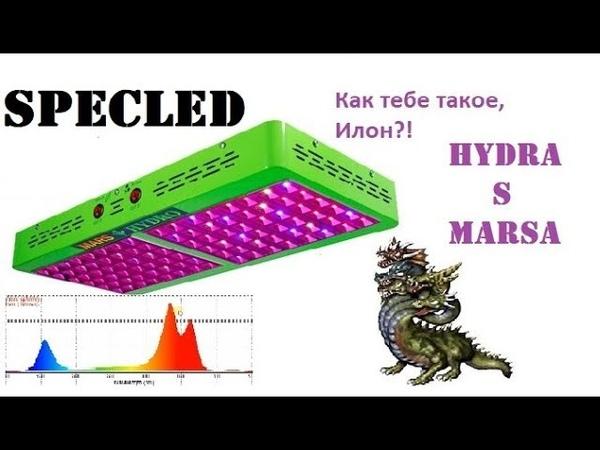 Обзор фитолампы MARS HYDRO сто миллионов ватт мощности LED
