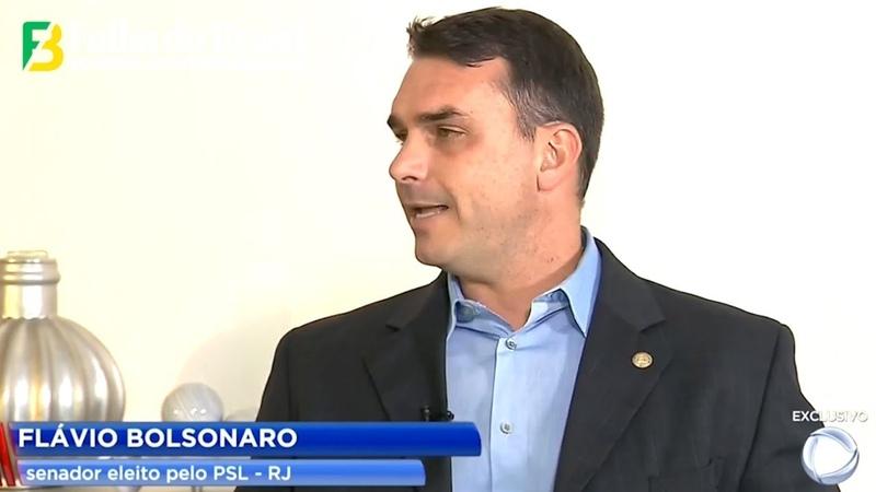 URGENTE! Flávio Bolsonaro fala sobre o caso Queiroz em entrevista ao Jornal da Record - 18012019