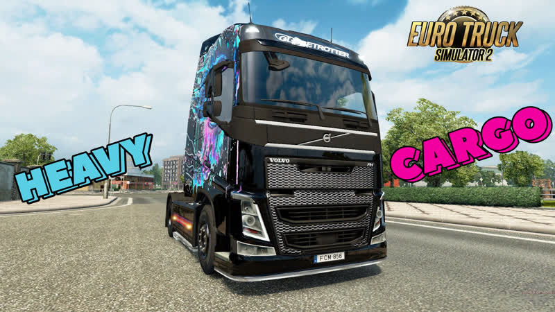 HEAVY CARGO ★ Euro Truck Simulator 2
