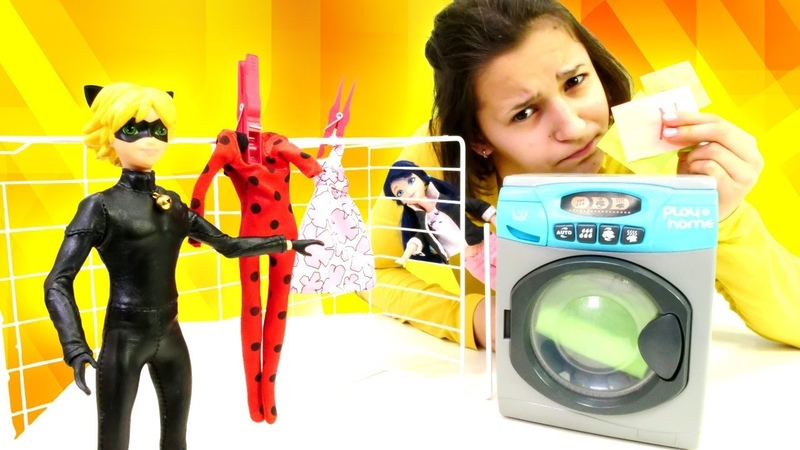 Çizgi film oyuncakları. Karakedi Ladybug gerçek kimliğini araştırıyor!