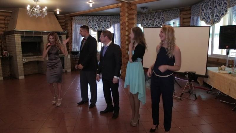Танцевальный батл )) - Свадьба - ведущая Любовь Миласветова