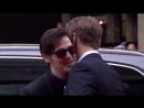 Sam Heughan and Caitriona Balfe on the BAFTA TV Awards red carpet