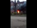 Пожар в Красноперекопском районе эвакуировали жильцов дома