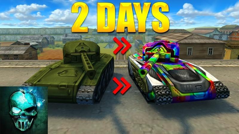 Completing Hornet XT Legacy Railgun Challenge in 48 HOURS!! - Tanki Online - Ghost Animator TO