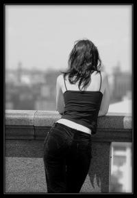 Фото брюнеток со спины.