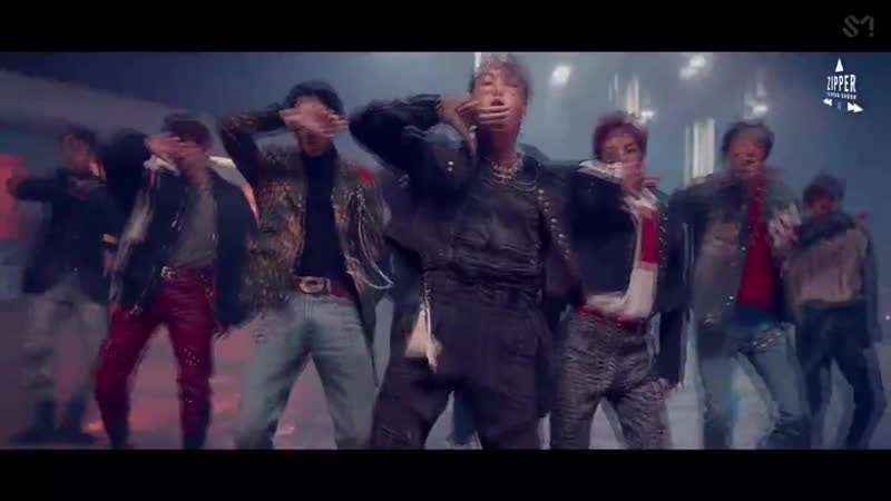 EXO – 'Love Shot' MV (рус. саб)