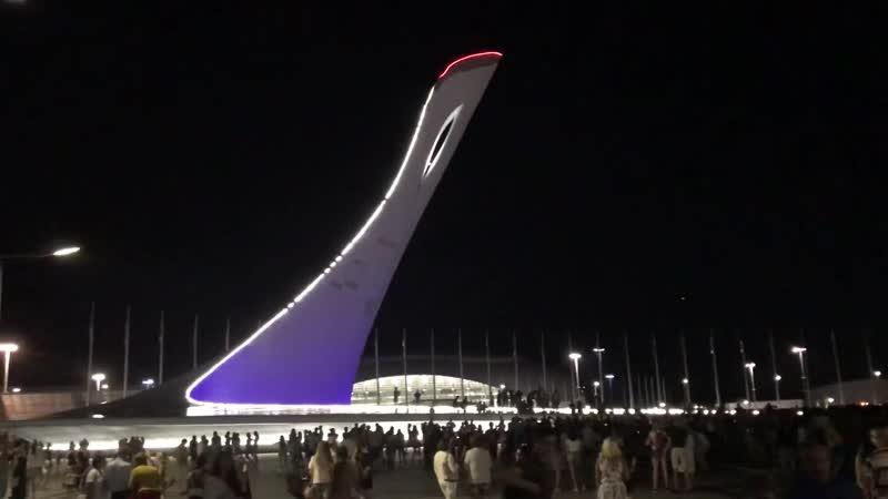 Олимпийский Парк в Сочи 2018 Поющие Фонтаны