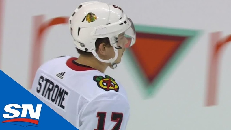 Blackhawks' Dylan Strome Does Spin O Rama For Beautiful Goal