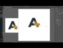 Иллюстратор База Часть 10 Создаем логотип часть 2