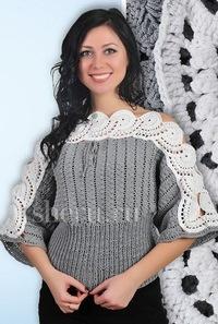 вязание спицами для женщин модные модели 2014 года платья с описанием