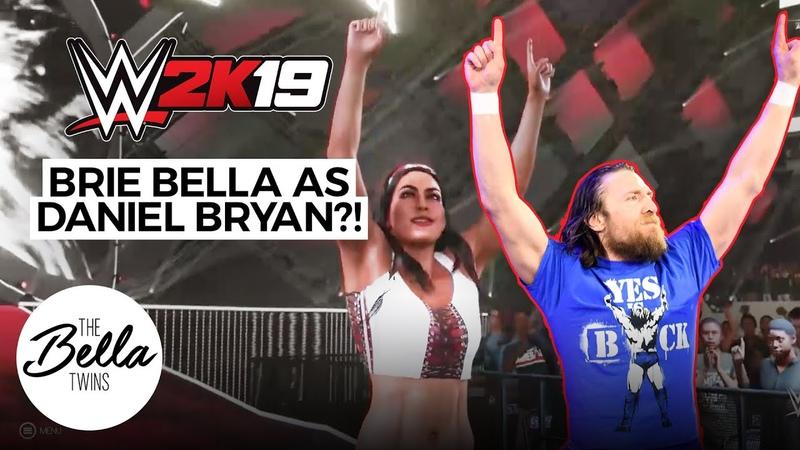 Brie Bella perfectly nails DANIEL BRYAN's entrance | WWE 2K19: Mashup Entrance