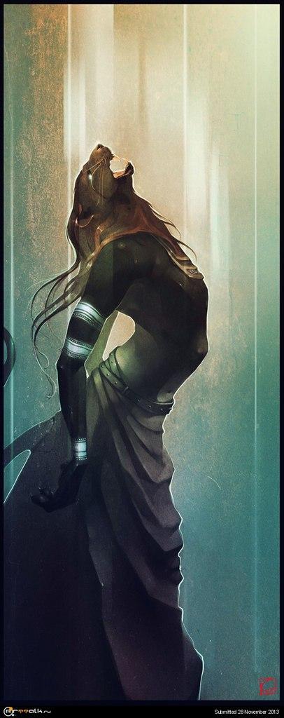 bast Sekhmet, dea della guerra - by Peter Grasso Pinterest © dell'autore