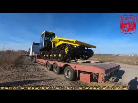 Гусеничный трелевочный трактор марки МГ-4 (ТТ-4М,ТТ-4) Лесозаготовительная техника