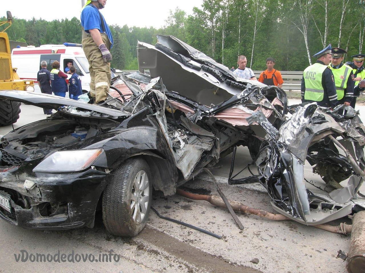 М4 Дон 58 км ДТП Московская область 21.05.2013 Мазда Mazda CX-7