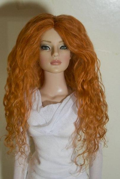 Мастер-класс по прошивке волос у кукол