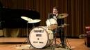 Emanuele Urso King of Swing on drums plays LIZA