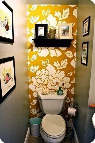 Интерьер туалета #DIY_Идеи