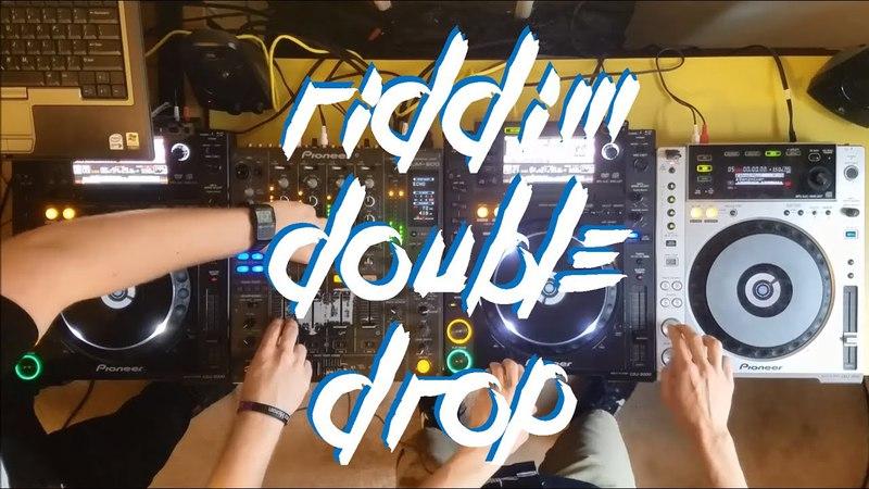 RIDDIM DOUBLE DROP MIX (feat. INFEKT, Al Ross, MURDA, SUBFILTRONIK™) - AUDIOGENIC B2B TOPHAT