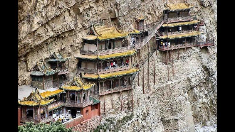 Китай. Самое ненадежно расположенное здание в мире.