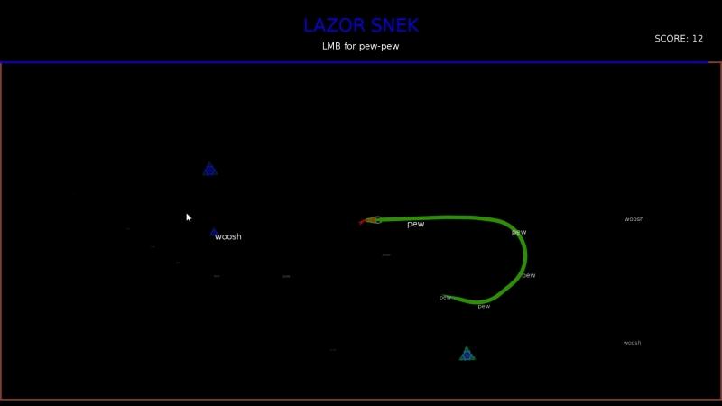 Smol snek gameplay video