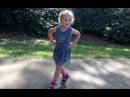 Урок танцев для ребенка в 3 года Дома с мамой ЧА ЧА ЧА