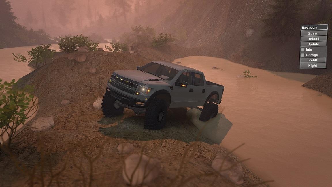 SID Ford Raptor SVT для 23.10.15 и 8.11.15 для Spintires - Скриншот 3