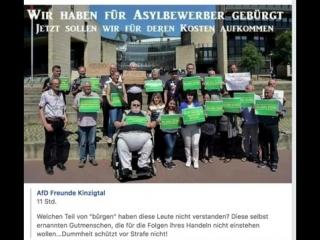 Bürgen müssen für Asylanten - Flüchtlinge bürgen- Zu Recht-