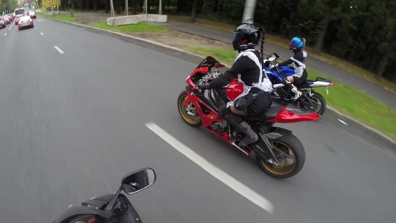 девушки на мотоциклах-2