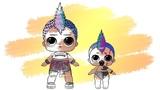 LOL Surprise! Punk Boi &amp Lil Punk Boi Change COLOR Coloring Book Раскраска ЛОЛ Мальчик ПАНК