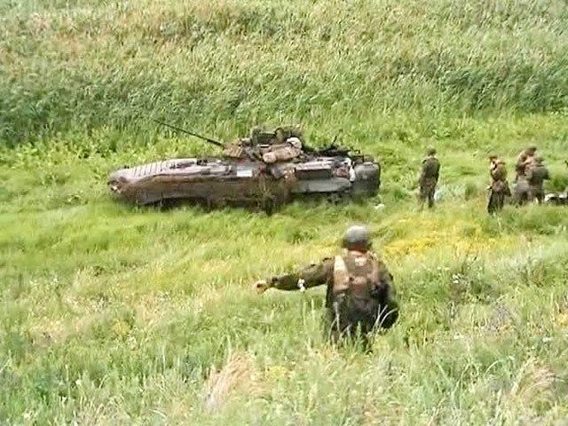 Экипаж украинской боевой машины, оставленной в Ростовской области, расстрелян своими. ВИДЕО
